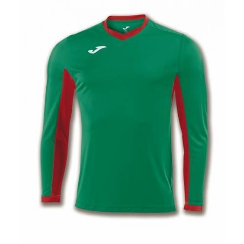 Camiseta manga larga Champion 4 Joma verde rojo