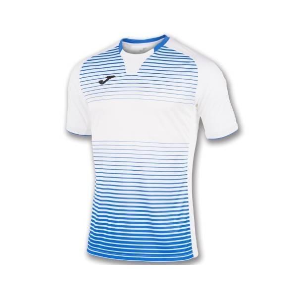 Camiseta Joma Galaxy Manga Corta -Villarreal-blanca-azul