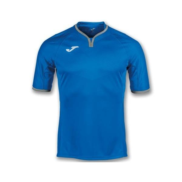 Camiseta Mundial Joma manga corta-azul-blanca