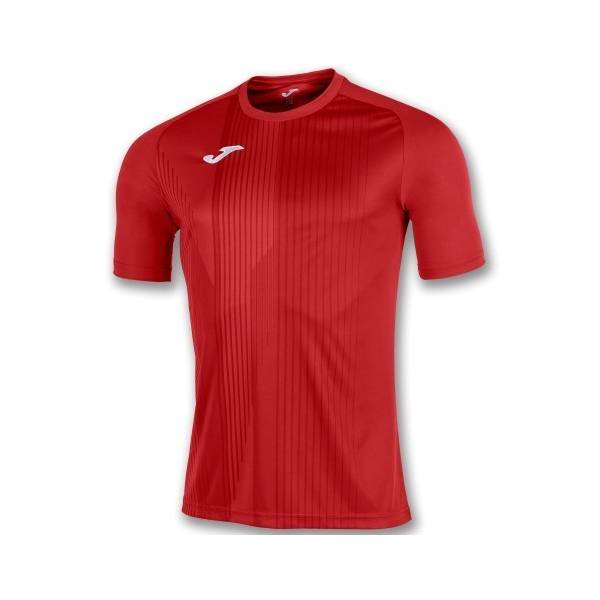 Camiseta Joma Tiger Manga Corta roja