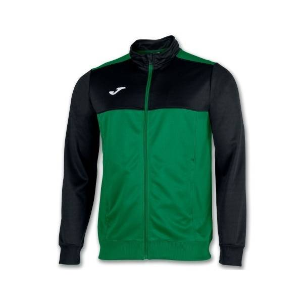 Chaqueta Winner bicolor Joma verde negro