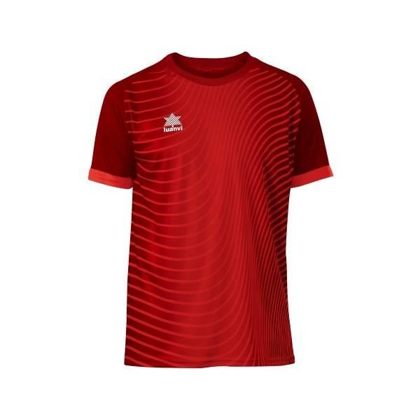 Camiseta Rio LUANVI rojo