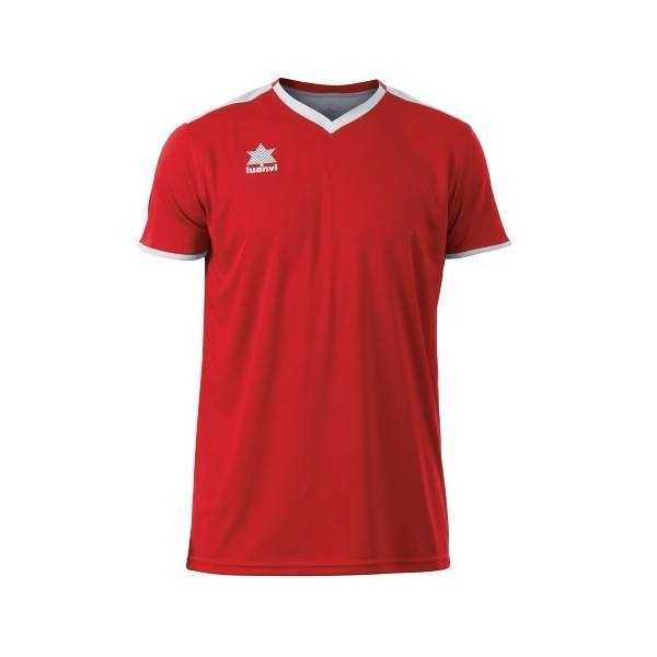 Camiseta Match LUANVI rojo