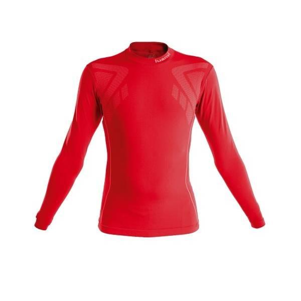 Camiseta térmica larga Sahara LUANVI rojo
