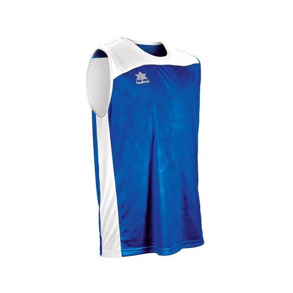 Camiseta Reversible Game LUANVI azul blanco