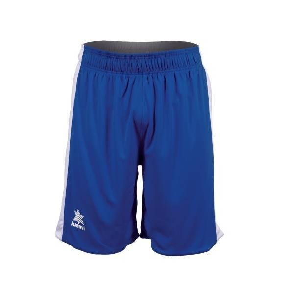 Pantalón Bermuda Reversible Game LUANVI azul blanco