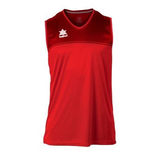 Camiseta sin mangas Apolo LUANVI rojo