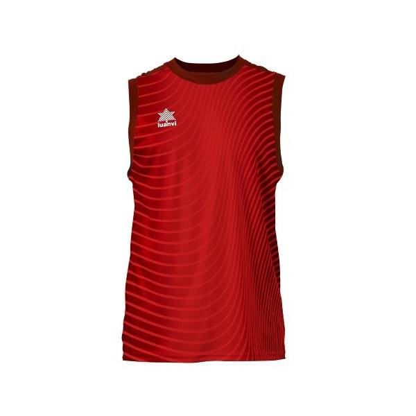 Camiseta sin mangas Rio LUANVI rojo