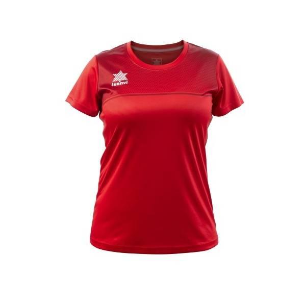 Camiseta Juego Apolo Femenino Luanvi ROJO