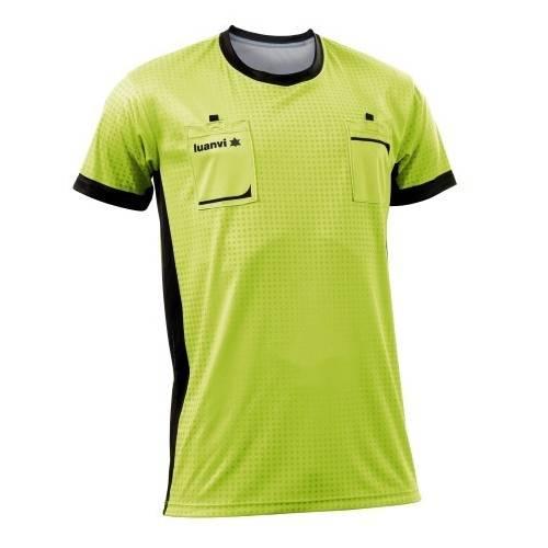 Camiseta árbitro Referee Luanvi manga corta