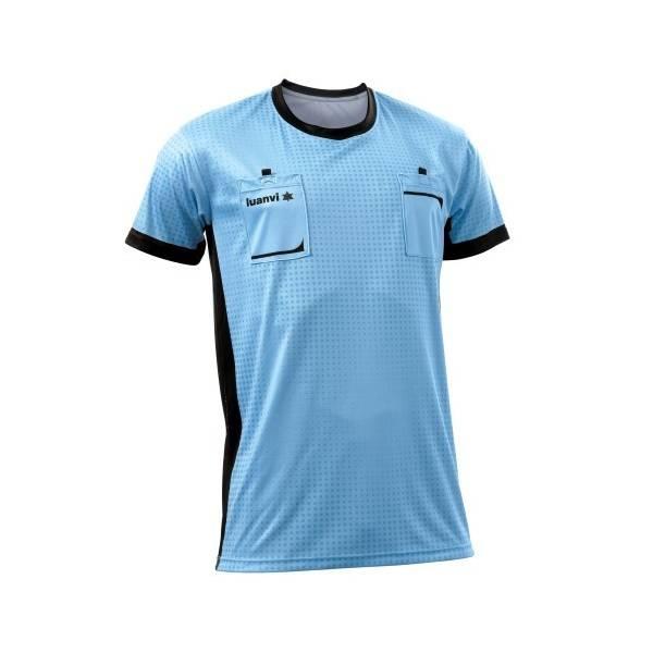 Camiseta árbitro Referee Luanvi manga corta CIELO
