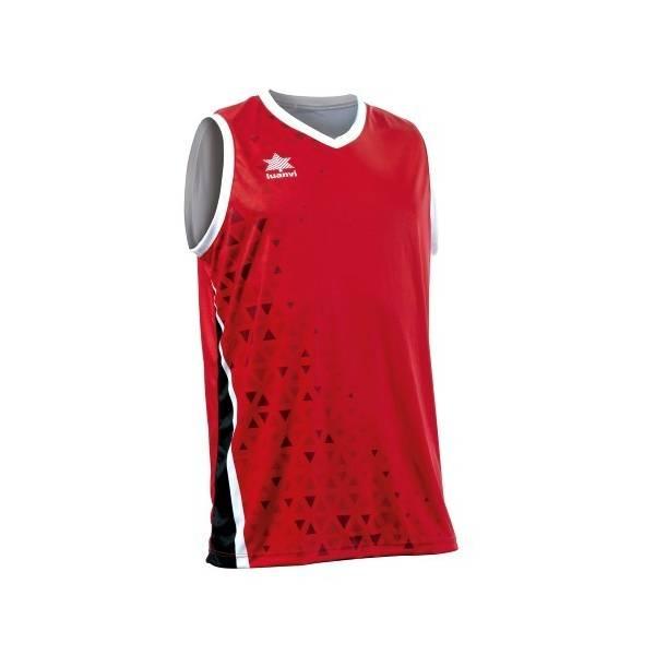 Camiseta Baloncesto Luanvi Cardiff ROJO