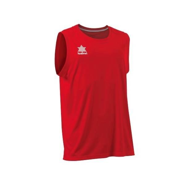 Camiseta Baloncesto Luanvi Pol ROJO