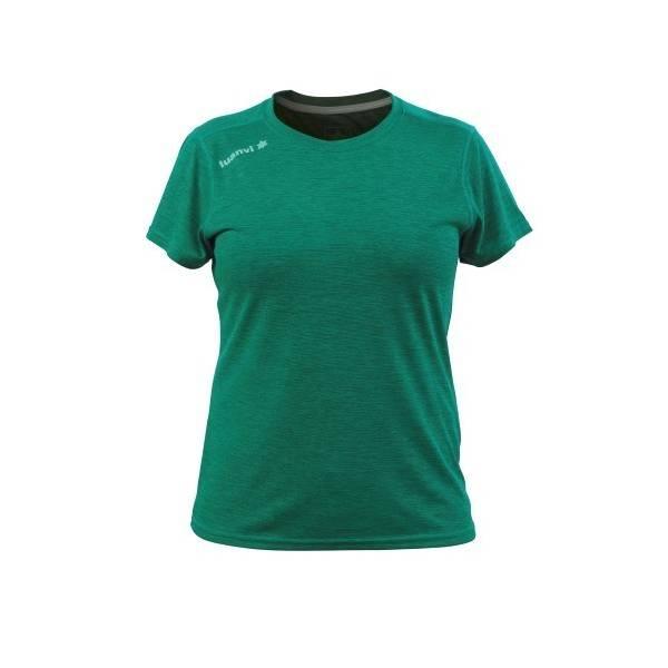 Camiseta Atletismo Nocaut Vigoré Sra Luanvi VERDE