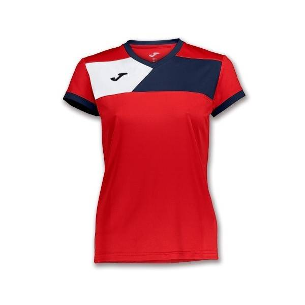Camiseta Crew 2 mujer rojo