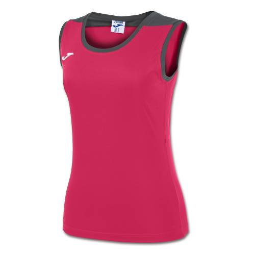 Camiseta mujer Spike sin mangas rosa