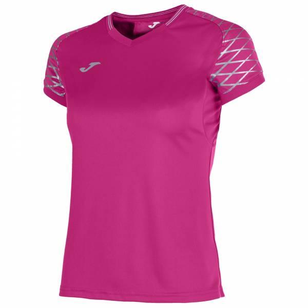 Camiseta mujer m/c Open Flash rosa
