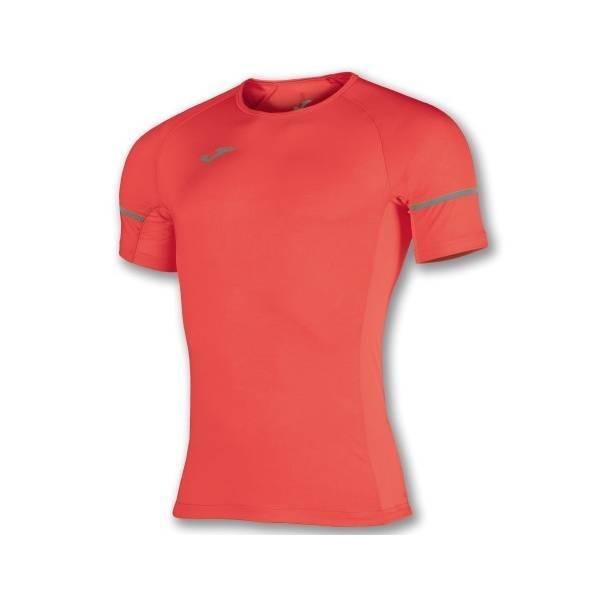 Camiseta Race streech aerodinámica Joma naranja fluor