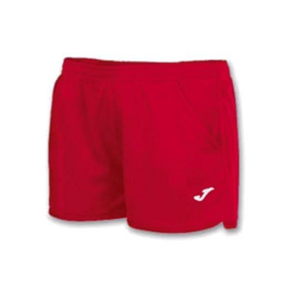Short mujer Hobby Joma rojo