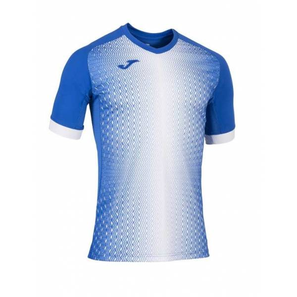 Camiseta manga corta Joma SUPERNOVA blanco azul