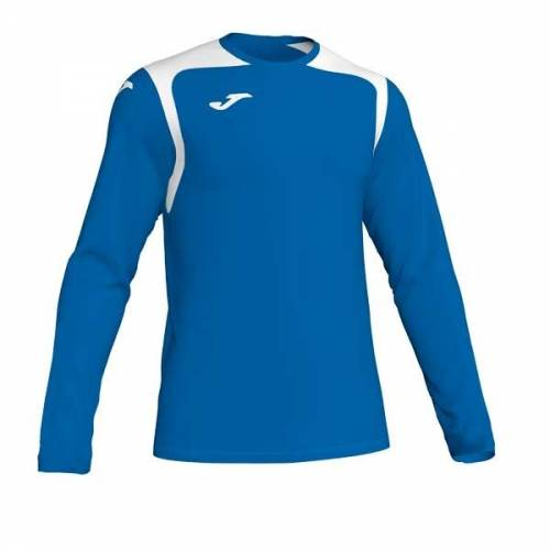 Camiseta manga larga Joma CHAMPION V azul blanco