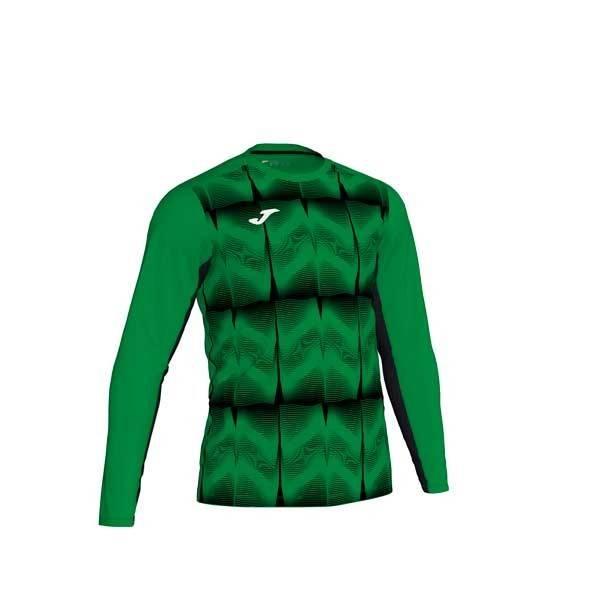 Camiseta de portero Manga Larga JOMA Derby IV verde negro