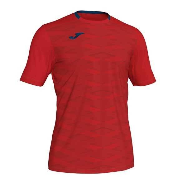 Camiseta rugby manga corta Joma Myskin Academy rojo