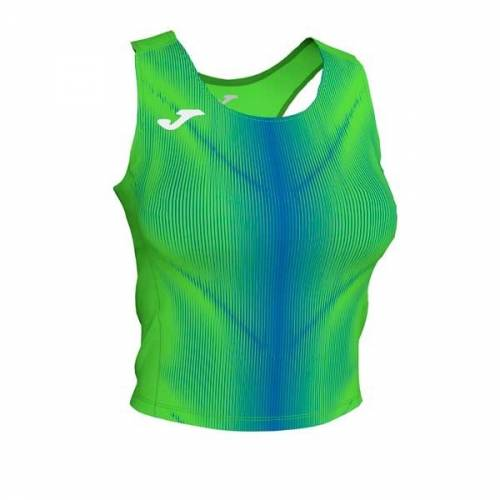 Top mujer Joma Olimpia  II verde fluor