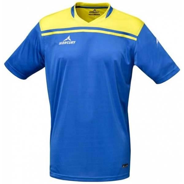 Camiseta manga corta Mercury Liverpool azul amarillo