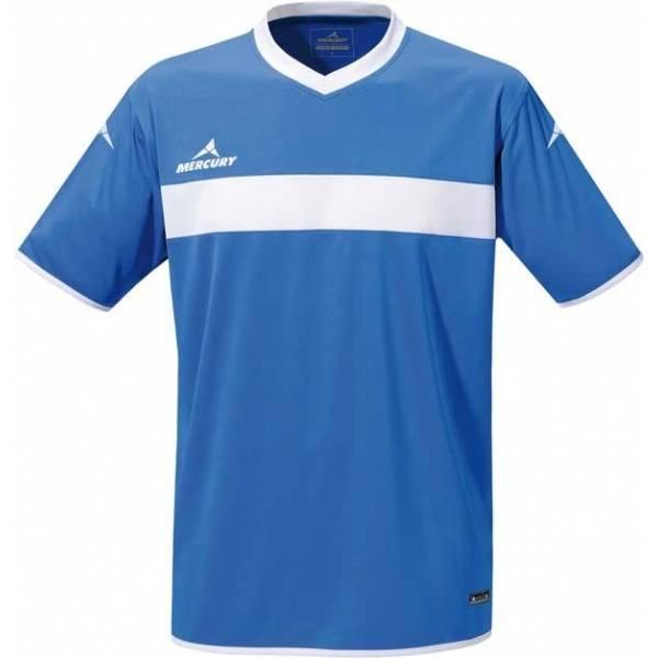 Camiseta manga corta Mercury Pro azul blanco
