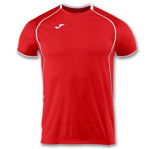 Camiseta manga corta Joma Olimpia I rojo blanco