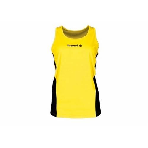 Camiseta sin mangas mujer Luanvi Race