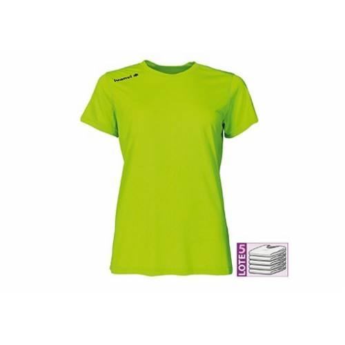 Camiseta manga corta mujer LUANVI Nocaut Gama
