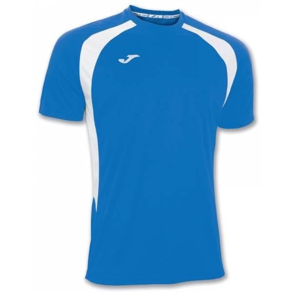 Camisetas Joma Champion III Azul Blanco