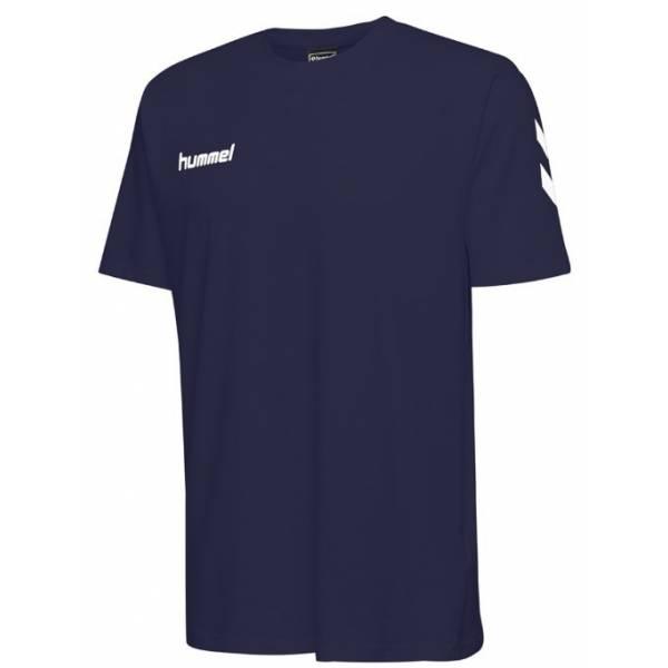 Camiseta HMLGO COTTON HUMMEL MARINO