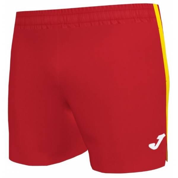 Short running Joma Elite VII rojo amarillo