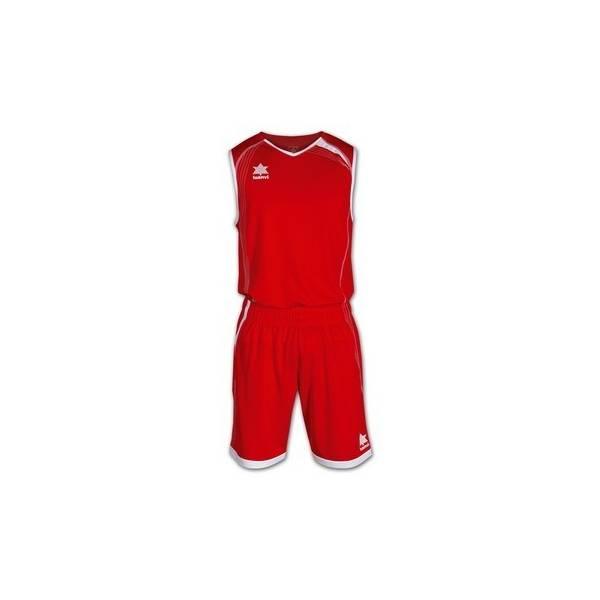 Equipaciones Luanvi Master Baloncesto Rojo
