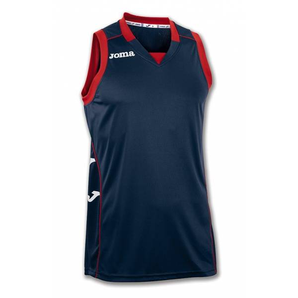 Camisetas Baloncesto Cancha II Joma Azul Marino
