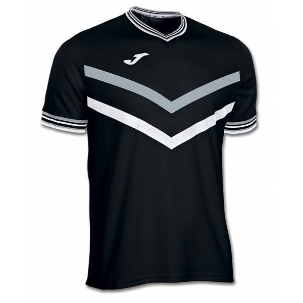 Camisetas Padel Terra Joma Negra Gris