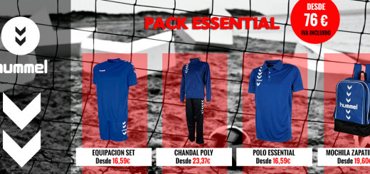 ffe728753da Pack Hummel Handball – Balonmano – Fútbol – Fútbol sala