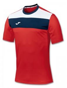 camiseta crew joma roja