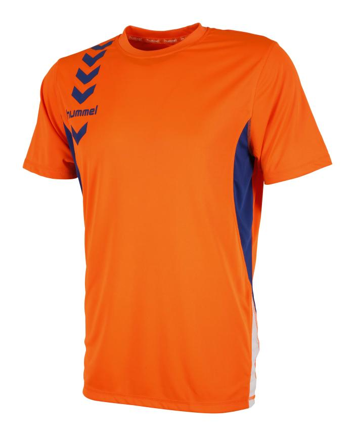 camiseta-essential-color-hummel-naranja