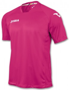 camiseta fit one joma rosa