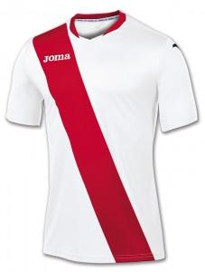 camiseta monarcas joma blanca roja