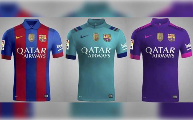 a11e31a9841ca Camisetas FC Barcelona 2016-2017