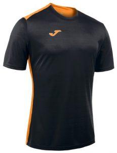 camiseta-joma-campus-II-negra-naranja